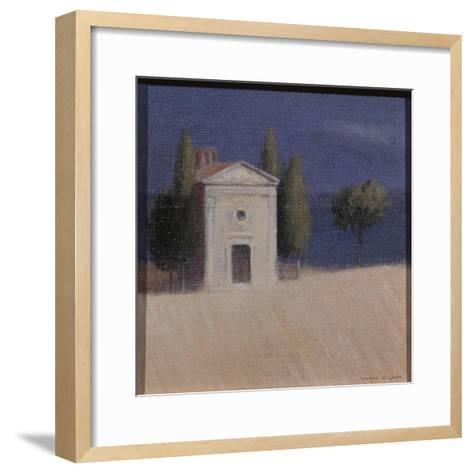 Chapel Near Pienza II, 2012-Lincoln Seligman-Framed Art Print