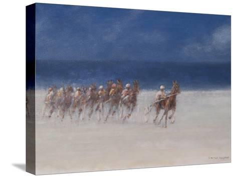 Trotting Races, Brittany, 2012-Lincoln Seligman-Stretched Canvas Print