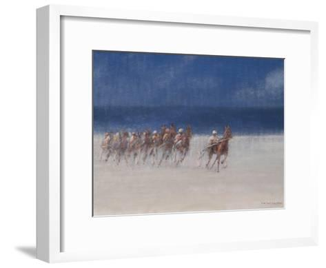 Trotting Races, Brittany, 2012-Lincoln Seligman-Framed Art Print