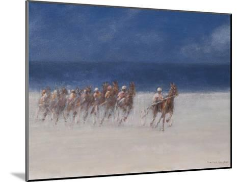 Trotting Races, Brittany, 2012-Lincoln Seligman-Mounted Giclee Print
