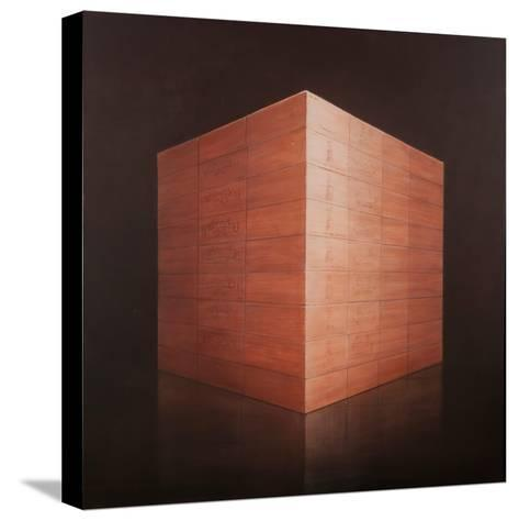 Wine Cases, 2012-Lincoln Seligman-Stretched Canvas Print