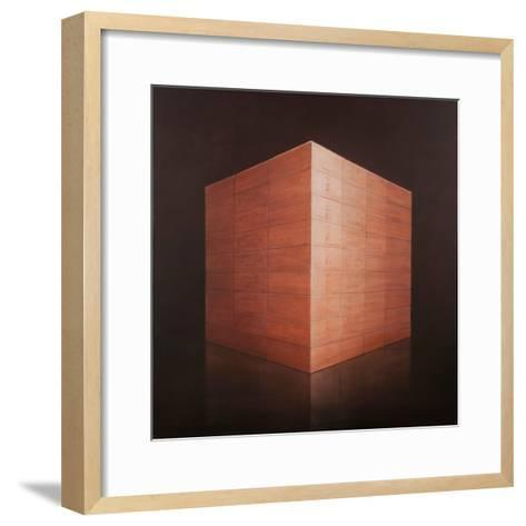 Wine Cases, 2012-Lincoln Seligman-Framed Art Print