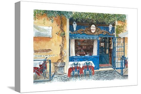 Osteria Margutta, Rome, Italy, 2013-Anthony Butera-Stretched Canvas Print