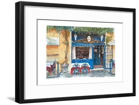 Osteria Margutta, Rome, Italy, 2013-Anthony Butera-Framed Art Print