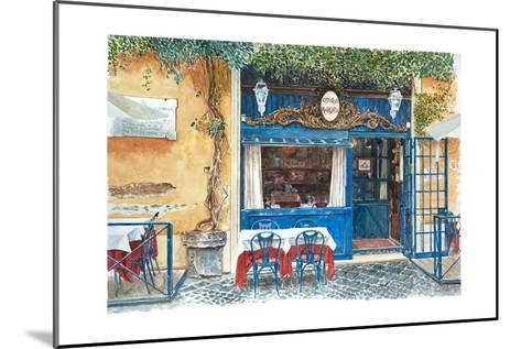 Osteria Margutta, Rome, Italy, 2013-Anthony Butera-Mounted Giclee Print