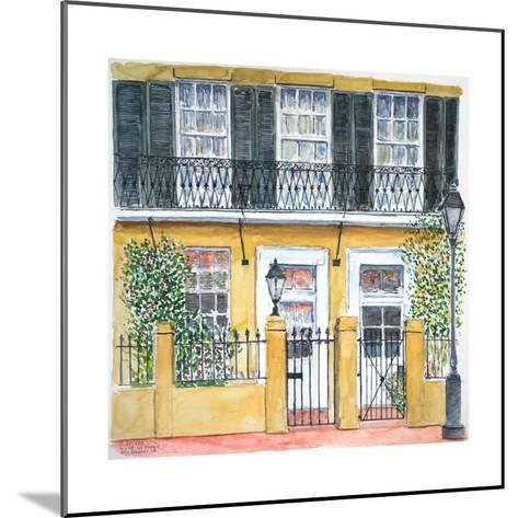 New Orleans, Dauphine St., 2008-Anthony Butera-Mounted Giclee Print
