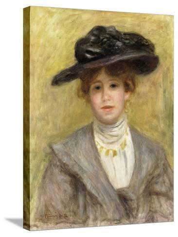 Madame Paul Valery, 1904-Pierre-Auguste Renoir-Stretched Canvas Print