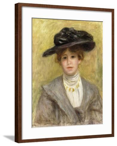 Madame Paul Valery, 1904-Pierre-Auguste Renoir-Framed Art Print
