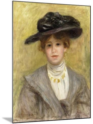 Madame Paul Valery, 1904-Pierre-Auguste Renoir-Mounted Giclee Print