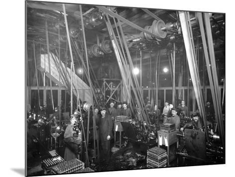Factory Workers in St Petrsburg, c.1916-Russian Photographer-Mounted Photographic Print