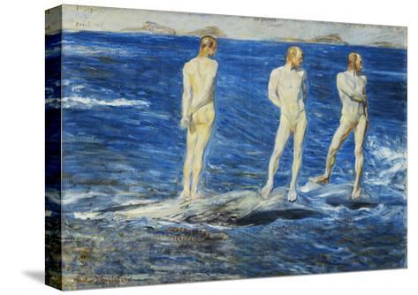 Salt, Wind and Sea, 1906, 1909-Johan Axel Gustav Acke-Stretched Canvas Print