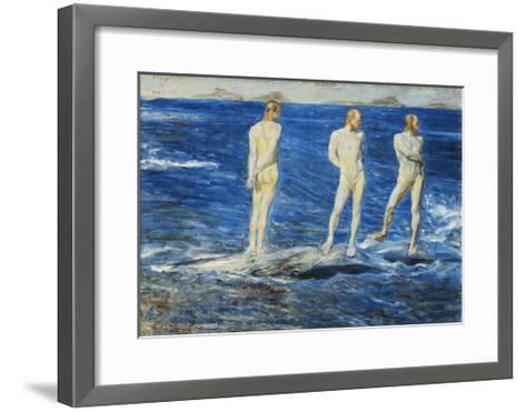 Salt, Wind and Sea, 1906, 1909-Johan Axel Gustav Acke-Framed Art Print