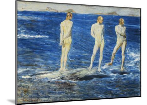 Salt, Wind and Sea, 1906, 1909-Johan Axel Gustav Acke-Mounted Giclee Print