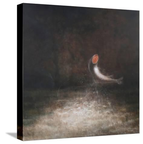 Leaping Fish, 2012-Lincoln Seligman-Stretched Canvas Print