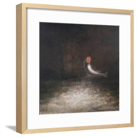 Leaping Fish, 2012-Lincoln Seligman-Framed Art Print