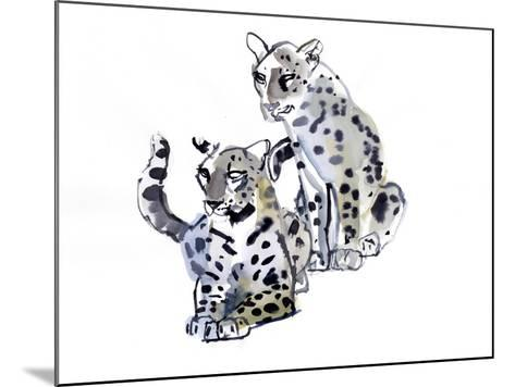 Mother and Son (Arabian Leopards), 2008-Mark Adlington-Mounted Giclee Print
