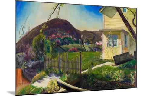 The Picket Fence, 1924-George Wesley Bellows-Mounted Giclee Print