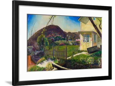 The Picket Fence, 1924-George Wesley Bellows-Framed Art Print