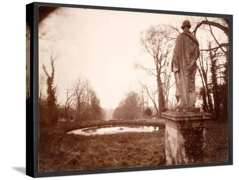 """March, 8am, from the Series """"Parc de Sceaux"""", 1925-Eugene Atget-Stretched Canvas Print"""