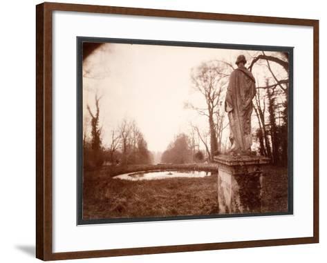 "March, 8am, from the Series ""Parc de Sceaux"", 1925-Eugene Atget-Framed Art Print"