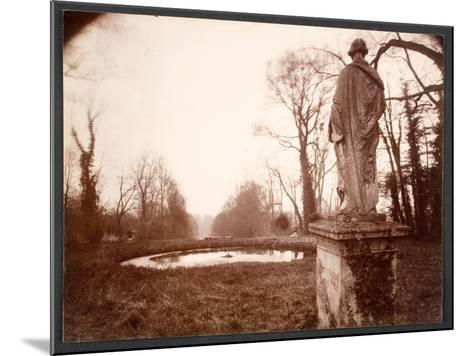 """March, 8am, from the Series """"Parc de Sceaux"""", 1925-Eugene Atget-Mounted Giclee Print"""