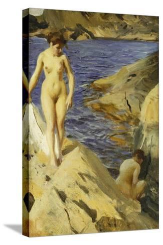 Nudes; Nakt, 1902-Anders Leonard Zorn-Stretched Canvas Print