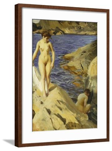 Nudes; Nakt, 1902-Anders Leonard Zorn-Framed Art Print