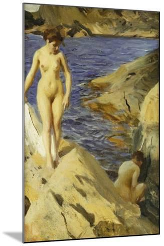 Nudes; Nakt, 1902-Anders Leonard Zorn-Mounted Giclee Print