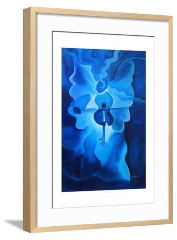 Angelic Concerto, 2010-Patricia Brintle-Framed Art Print