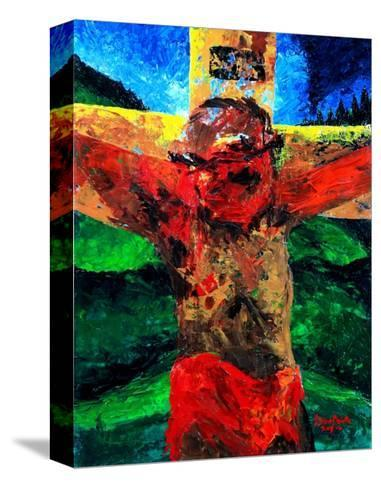 Crucifixion- it Is Finished, 2009-Patricia Brintle-Stretched Canvas Print