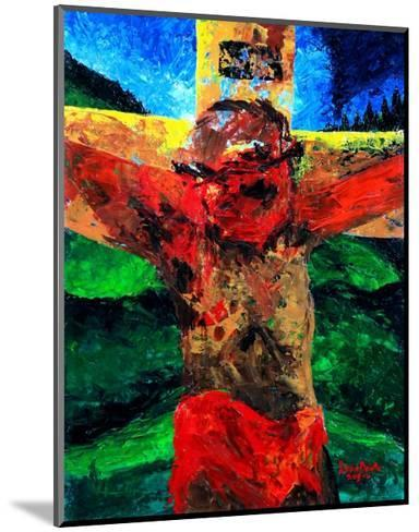 Crucifixion- it Is Finished, 2009-Patricia Brintle-Mounted Giclee Print