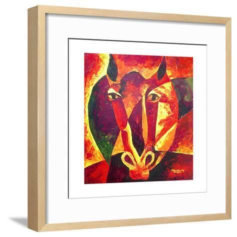 Equus Reborn, 2009-Patricia Brintle-Framed Art Print