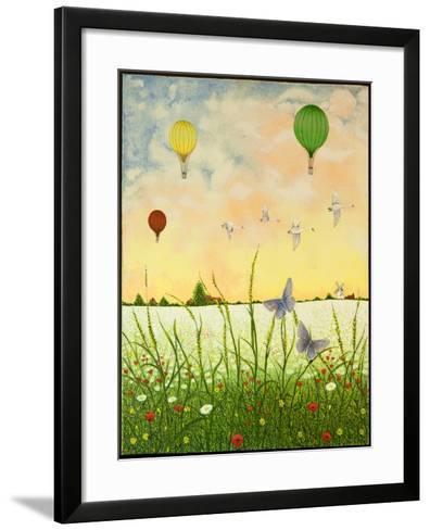 High Flyers, 2011-Pat Scott-Framed Art Print