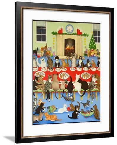 Getting Together, 2012-Pat Scott-Framed Art Print