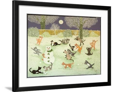 Barn Storming, 2011-Pat Scott-Framed Art Print