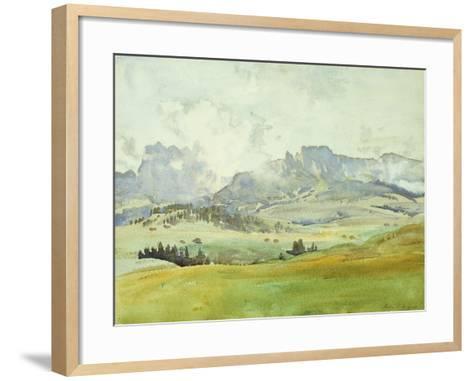 In the Dolomites, 1914-John Singer Sargent-Framed Art Print