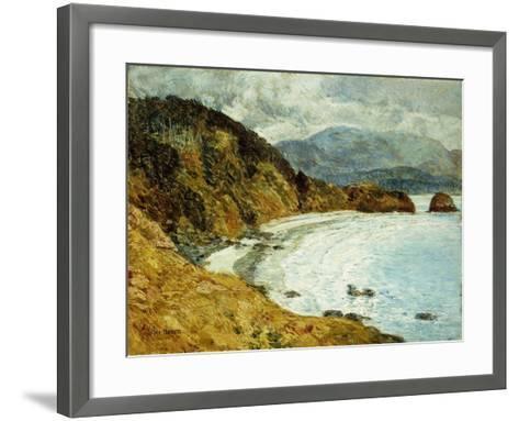 Ecola Beach, Oregon, 1904-Childe Hassam-Framed Art Print