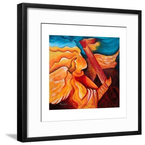 A Song for Nicolette, 2001-Patricia Brintle-Framed Art Print