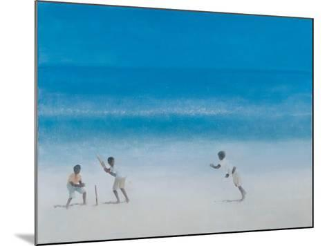 Cricket on the Beach, 2012-Lincoln Seligman-Mounted Giclee Print