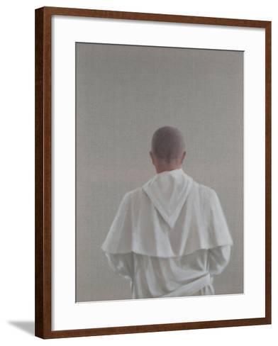 Monk Sant'Antimo III, 2012-Lincoln Seligman-Framed Art Print