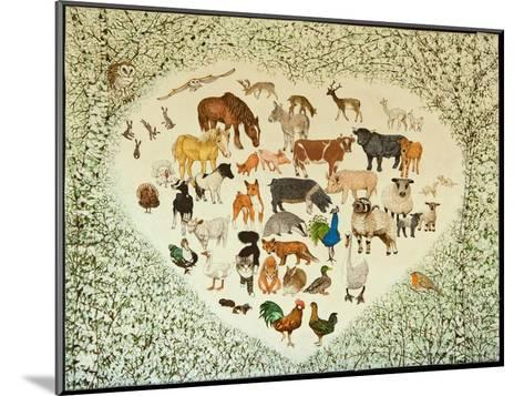 At the Heart of it All, 2013-Pat Scott-Mounted Giclee Print