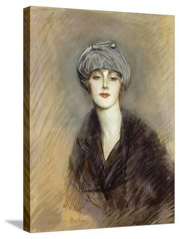 Portrait of Lucette, c.1913-Paul Cesar Helleu-Stretched Canvas Print