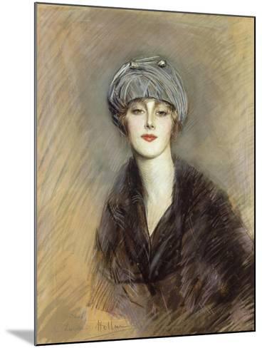 Portrait of Lucette, c.1913-Paul Cesar Helleu-Mounted Giclee Print
