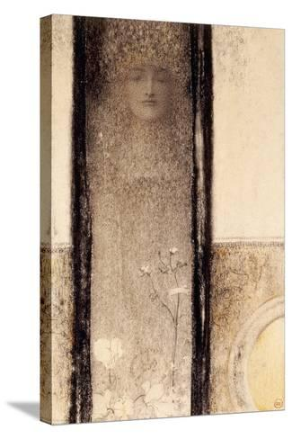 Femme Mysterieuse, c.1909-Fernand Khnopff-Stretched Canvas Print