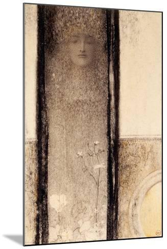 Femme Mysterieuse, c.1909-Fernand Khnopff-Mounted Giclee Print