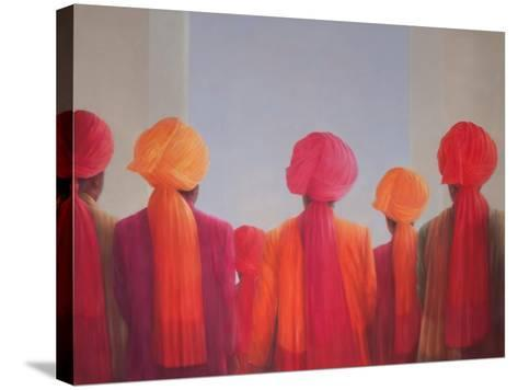 Turban Group, 2012-Lincoln Seligman-Stretched Canvas Print