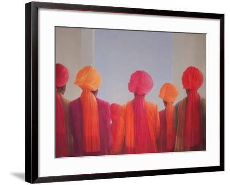Turban Group, 2012-Lincoln Seligman-Framed Art Print