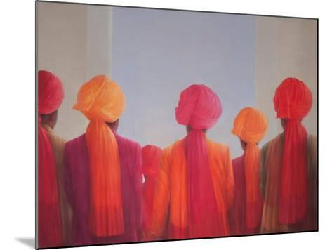 Turban Group, 2012-Lincoln Seligman-Mounted Giclee Print