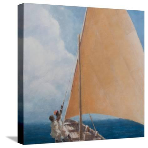 Dhow, Kilifi, 2012-Lincoln Seligman-Stretched Canvas Print