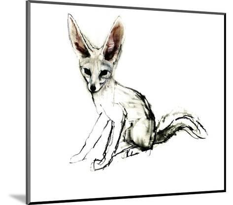 Foxy (Sand Fox), 2009-Mark Adlington-Mounted Giclee Print